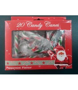 CANY CANE MINI PEPPERMINT PKT 20