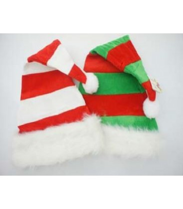 Santa Hats - Red & White or Red & Green