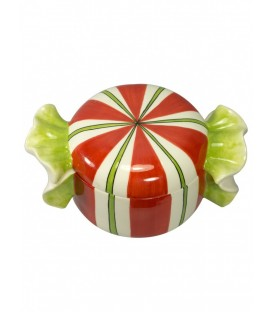 Round Candy Lolly Jar