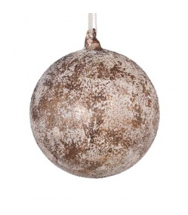 Bauble Elysees 6inc / 16cm Coffee