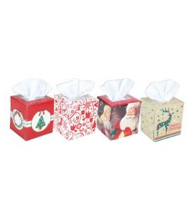 TISSUE FACIAL BOX ASS XMAS