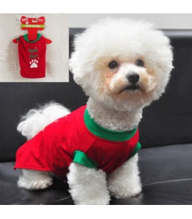 PET SANTA PAW COSTUME