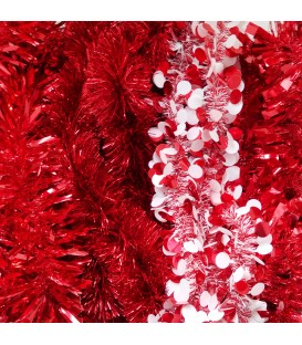 TINSEL RED 2MTRE