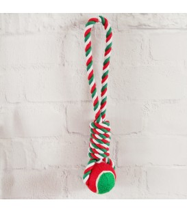 PET TOY ROPE/BALL