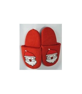 Apparel - Santa Slippers - Size 7 to 8
