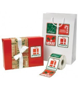Adhesive Labels - Holiday Greetings